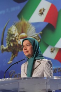 Maryam Rajavi, leader of the main democratic Iranian opposition
