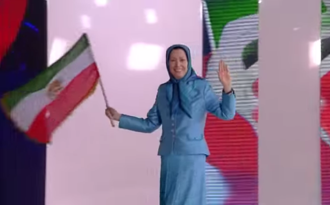 Maryam Rajavi June Gathering 2014