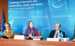 Maryam Rajavi Council of Eurpoe January 26 2015