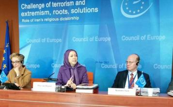Maryam Rajavi Council of Eurpoe January 26 2015