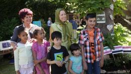 Maryam Rajavi Flower Festival June 2015