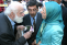Maryam Rajavi with Father Henri - Auver