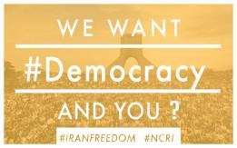 We Want Democracy and you?