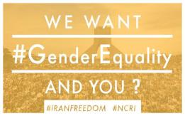 We want gender equality and you?