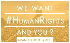 We want human rights and you?