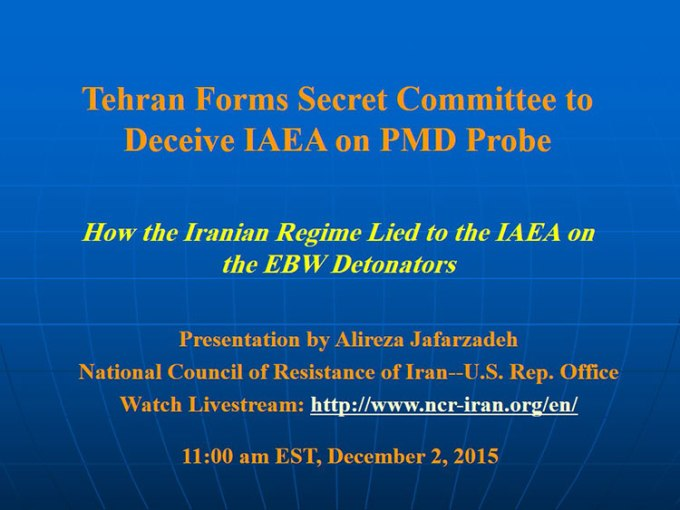 National Council of Resistance of Iran - Live Conference